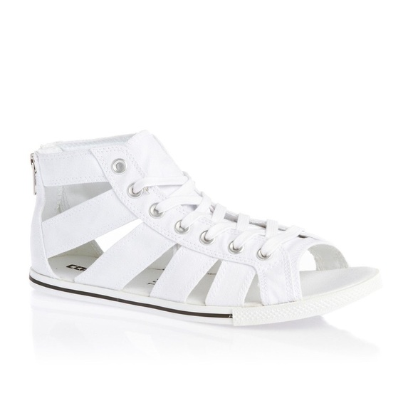 7be66fea2845 Converse Shoes - Converse Chuck Taylor Gladiator Sandal WHITE
